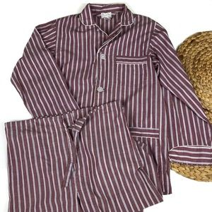 Christian Dior striped pajamas set